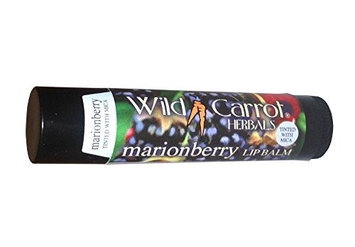 Marionberry w/ Mica Lip Balm Wild Carrot Herbals 0.15 oz Balm