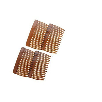 Tortoise Multi-Purpose Hair Combs - Set of Four (4) by Ear Mitts