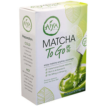 Aiya Matcha To Go Sticks