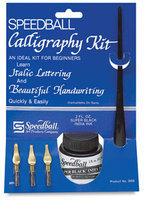 Speedball Art H3059 Introductory Calligraphy Kit