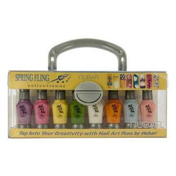 Nubar Spring Fling Nail Art Pen & Striper Set