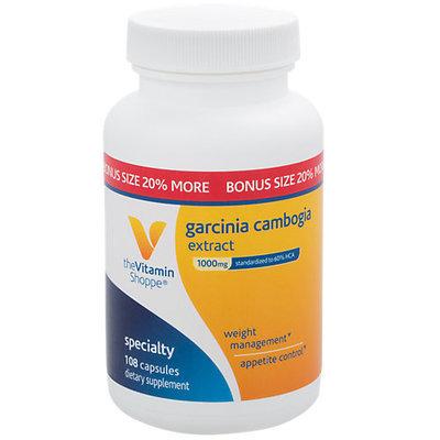 The Vitamin Shoppe Garcinia Cambogia Extract Bonus