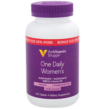 The Vitamin Shoppe One Daily Womens Multivitamin