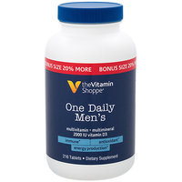 The Vitamin Shoppe One Daily Mens Multivitamin