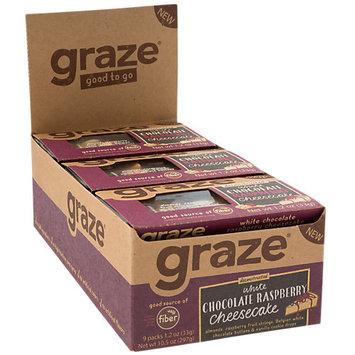 Graze White Chocolate Raspberry Cheesecake