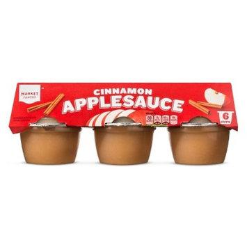 Cinnamon Applesauce 6ct - 4oz - Market Pantry™
