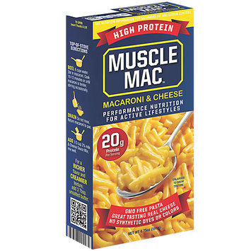 Quality Pasta Co Muscle Mac Macaroni & Cheese