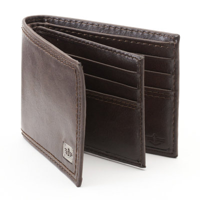 Dockers Brown Slimfold Wallet - Men