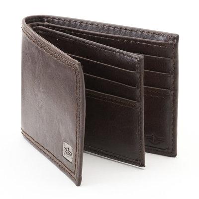 Dockers Brown Slimfold Wallet - Men