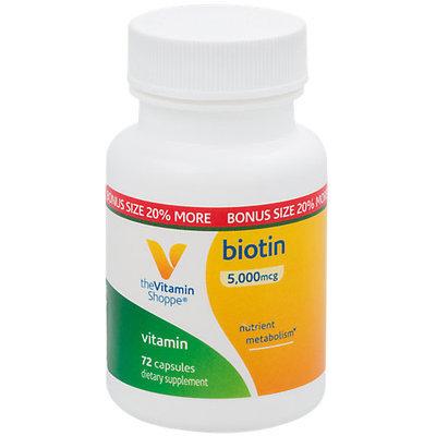 The Vitamin Shoppe Biotin