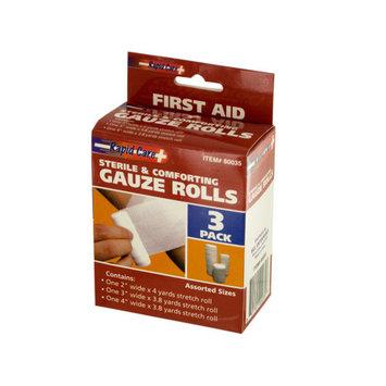 Assorted Gauze Rolls