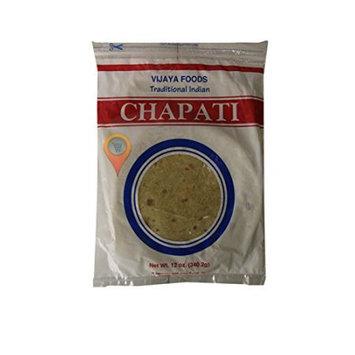 Vijaya Taazi Chapati Traditional Indian Fresh Roti, 40-Rotis