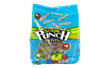 Sour Punch Twists 4-Flavor, 40 oz