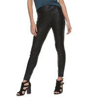 Women's Rock & Republic® Coated Crackle Leggings
