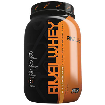 Rivalus Rival Whey, Chocolate Peanut Butter, 30 Servings