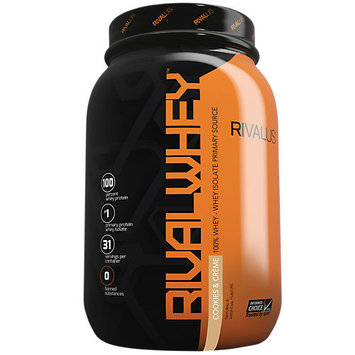 Rivalus Rival Whey, Cookies & Creme, 31 Servings