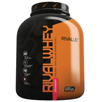 Rivalus Rival Whey, Strawberry, 78 Servings
