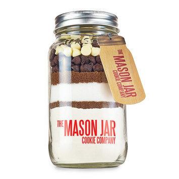 The Mason Jar Cookie Company Mason Jar Cookie Company 20.2-oz. Triple Chocolate Cookie Mix In a Jar