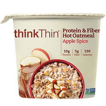 Think Thin Hot Oatmeal Apple Spice