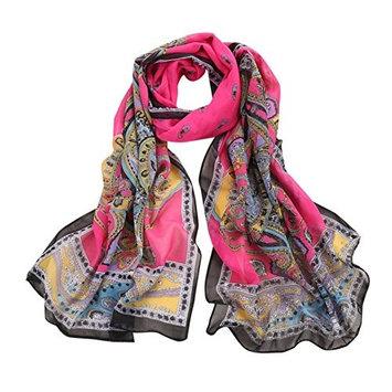 Datework Women Bohemia Long Soft Wrap Shawl Scarf