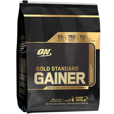 Optimum Nutrition Gold Standard Gainer, Colossal Chocolate, 10 Pounds