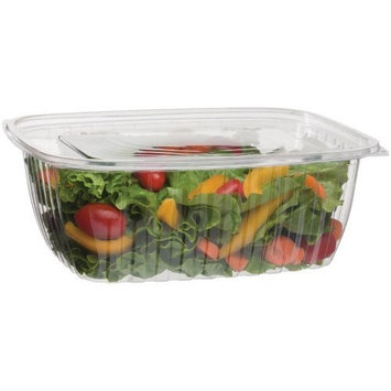 Eco-Products - Renewable & Compostable Rectangular Deli Container with Lid - 64oz. Container - EP-RC64 (Case of 200, 50 per Pack)