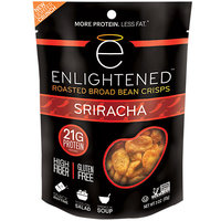 Enlightened(tm) Roasted Broad Bean Crisps - Sriracha