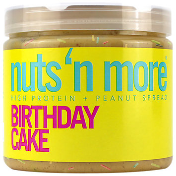 Nuts N More High Protein Birthday Cake Peanut Butter