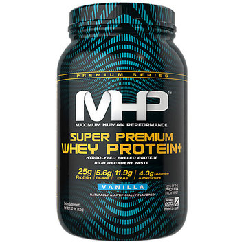 MHP Super Premium Whey Protein+ - 2lb Vanilla