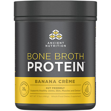 Ancient Nutrition Bone Broth Protein Powder - Banana Crme - 17.3oz Gut Friendly