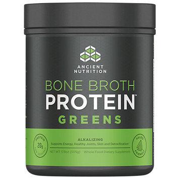 Ancient Nutrition Bone Broth Protein Powder - Greens - 17.8oz Gut Friendly
