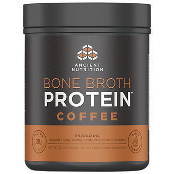 Ancient Nutrition Bone Broth Protein Powder - Coffee - 20.9oz Gut Friendly
