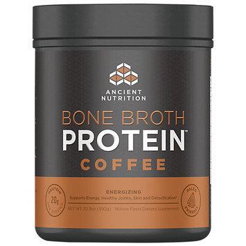 Ancient Nutrition Bone Broth Protein Powder - Coffee - 20.9oz Gut Friendly