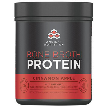 Ancient Nutrition Bone Broth Protein Powder - Cinnamon Apple - 17.4oz Gut Friendly
