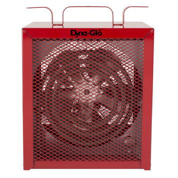Dyna-glo 4,800-Watt Electric Garage Heater, Red