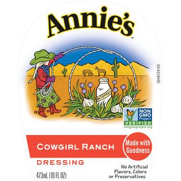 Annie's Cowgirl Ranch Dressing, 16 fl oz