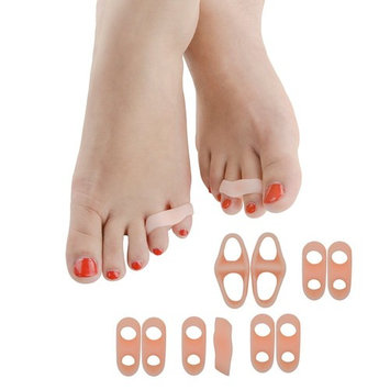 Hammer Toe Straightener Overlapping Toes,Bunion and Toe Big & Little Thumb Separator Orthotics