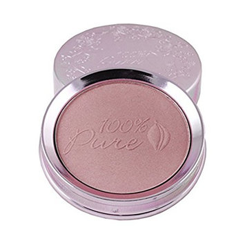 100% Pure Powder Blush, Strawberry, 0.32 Ounce