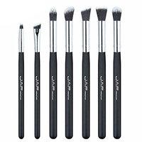 Leoy88 7Pcs Professional Multifunction Makeup Brushes Set,Premium Nylon Eyeshadow Lip Foundation Makeup Brush Set
