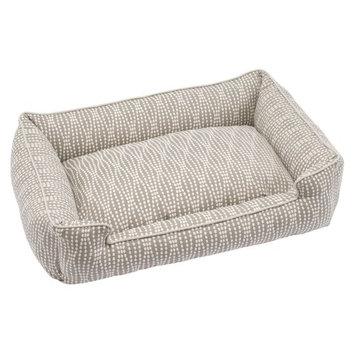 Jax & Bones Lounge Dog Bed Small, Pearl (Cotton Blend)
