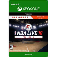 Incomm Xbox one NBA LIVE 18 (email delivery)