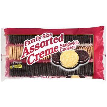 Vista: Assorted Creme Sandwich Family Size Cookies, 25 Oz