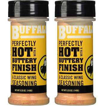 Buffalo Wild Wings Barbecue Sauces, Spices, Seasonings and Rubs For: Meat, Ribs, Rib, Chicken, Pork, Steak, Wings, Turkey, Barbecue, Smoker, Crock-Pot, Oven (Buffalo, (2) Pack)