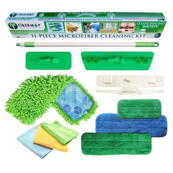 Fibermop 11-in-1 Microfiber Mop Cleaning Kit