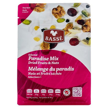Basse Nuts Basse Selected Paradise Mix, Dried Fruits and Nuts (7oz.) Dried Cranberries Dried Cherries Toast Coconut Toast Life!
