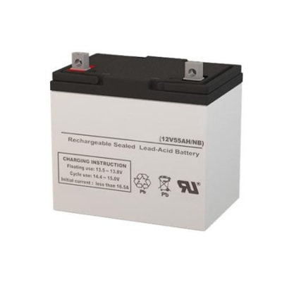 12V 55AH Electric Scooter Replacement Battery