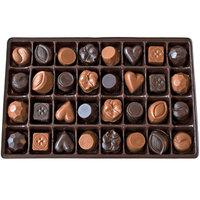 Lang's Chocolates Dark Chocolate Sampler Box 32 piece assorted dark chocolates