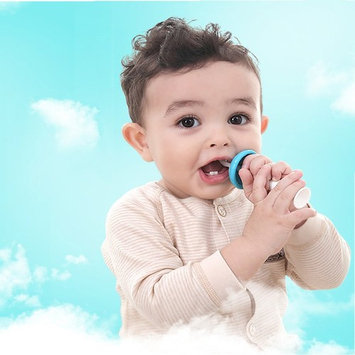 Mushroom Standing Training Toothbrush And Tongue Massage For Baby Infant Newborn Also Chew Teether Silicone Material 4pcs