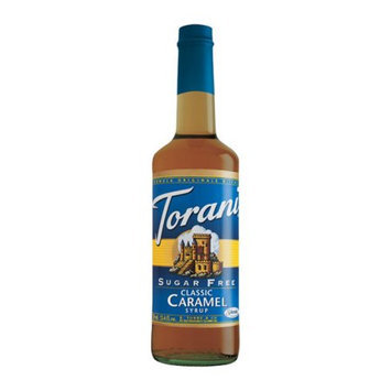R. Torre & Company Sugar-Free Classic Caramel Drink Syrup, 750mL 12 Bottles per Case.750 mL per Bottle.