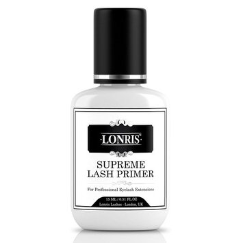 LASH PRIMER for Eyelash Extension Glue Lonris | Adhesive Pre-treatment Semi Permanent Eye Lash Protein and Oil Remover | Lashes Cleanser Natural & Strong Retention Supplies | 15 ml